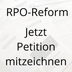 RPO-Reform